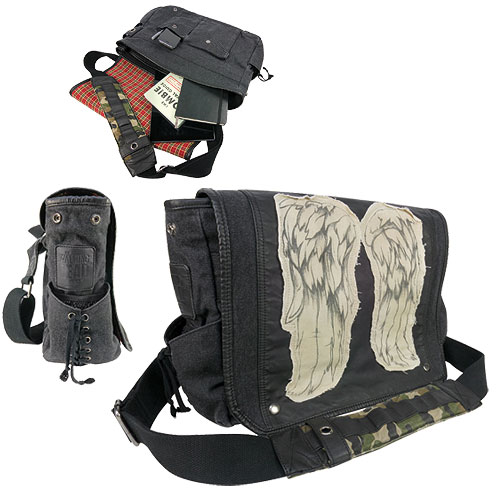 The Walking Dead Daryl Dixon Wings Messenger Bag