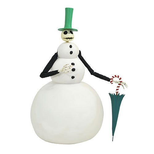 Nightmare Before Christmas Jack Snowman Deluxe Doll