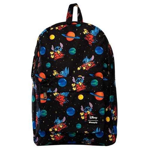 Lilo & Stitch Alien 626 Stitch Space Nylon Backpack