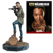The Walking Dead Sasha Figure with Collector Magazine #10