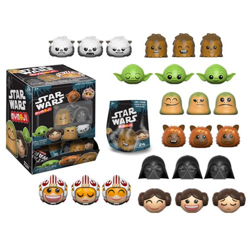 Star Wars Series 1 Mymoji Mini-Figure Display Case