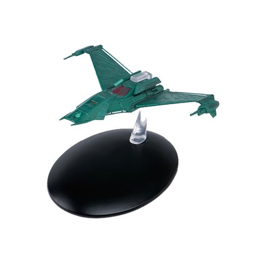 Star Trek Starships Klingon Attack Ship Die-Cast Vehicle with Collector Magazine