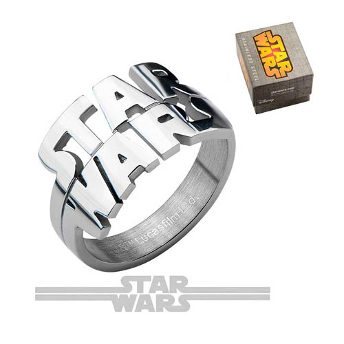 Star Wars Logo Cut Out Ring