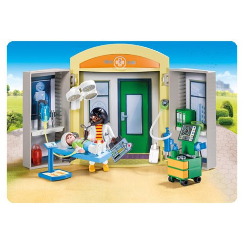 Playmobil 9110 Hospital Play Box