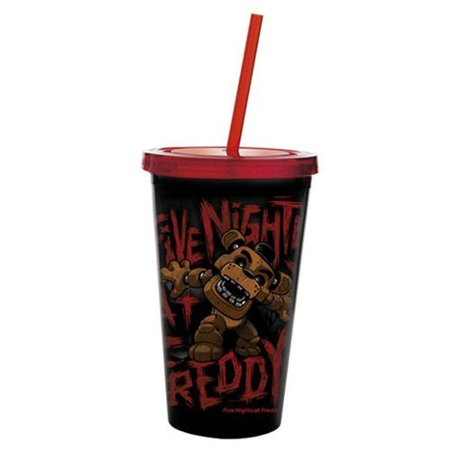 Five Nights at Freddy's Freddy Fazbear Travel Cup