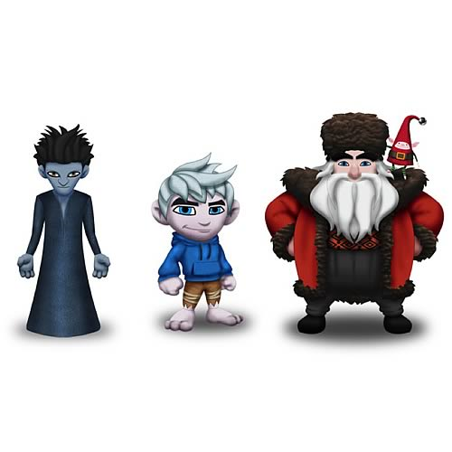 Rise of the Guardians Plush Set