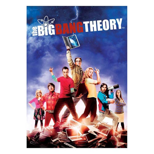 The Big Bang Theory Group MightyPrint Wall Art Print