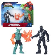 Spider-Man Agent Venom vs Green Goblin Figure, Not Mint