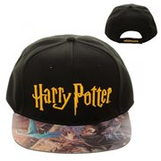 Harry Potter and the Sorcerer's Stone Printed Vinyl Flatbill Hat