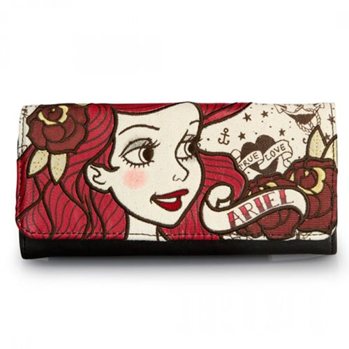 The Little Mermaid Ariel True Love Wallet