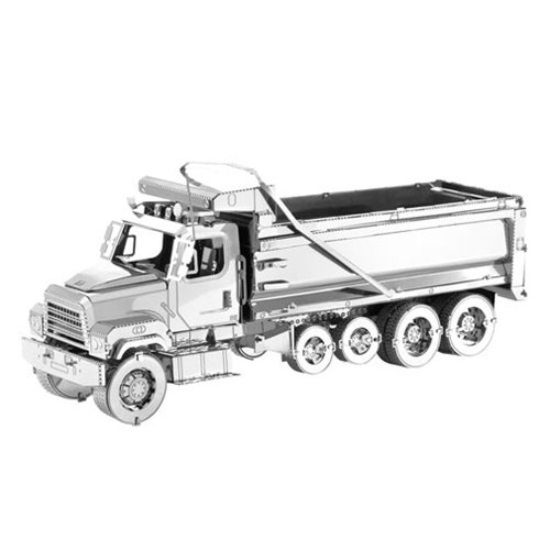 Freightliner Metal Earth Dump Truck Model Kit