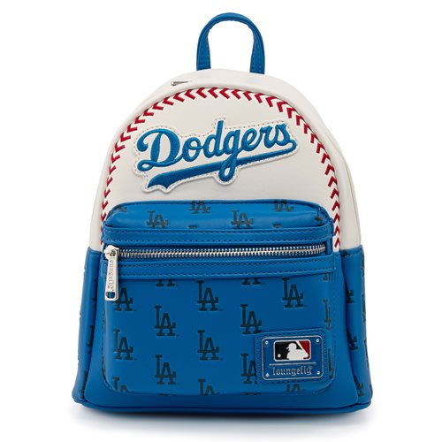 MLB Los Angeles Dodgers Baseball Seam Mini-Backpack