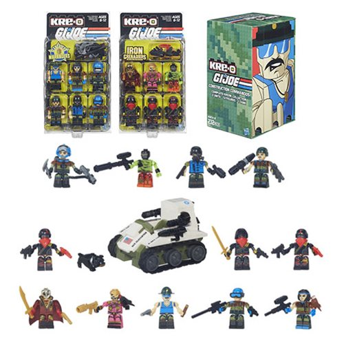 Kre-O G.I. Joe Construction Commandos Complete Kreon Collection - Convention Exclusive