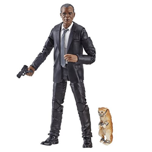 Captain Marvel Marvel Legends Series Nick Fury 6-Inch Action Figure