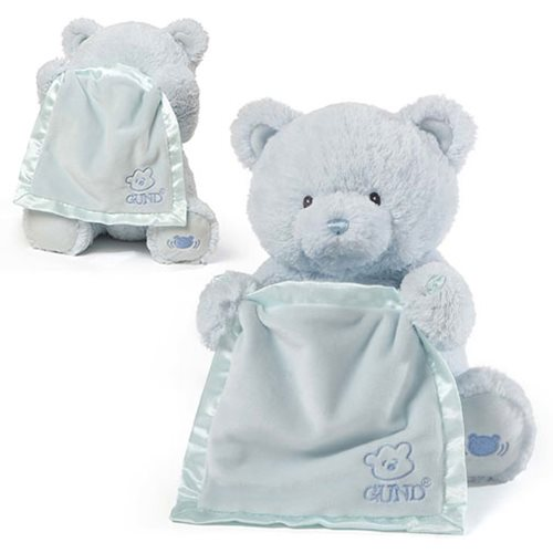 My First Teddy Peek a Boo Blue Animated Plush
