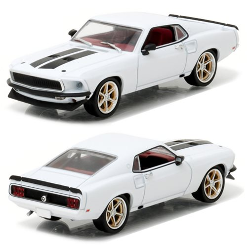 Fast and Furious 6 1969 Ford Mustang Custom Anvil Halo 1:43 Scale Die-Cast Metal Vehicle