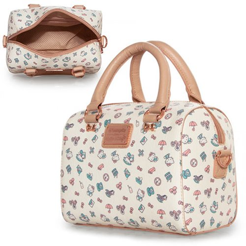 d9edb8fb9b40 Hello Kitty Pastel Print Pebble Duffle Purse - Entertainment Earth