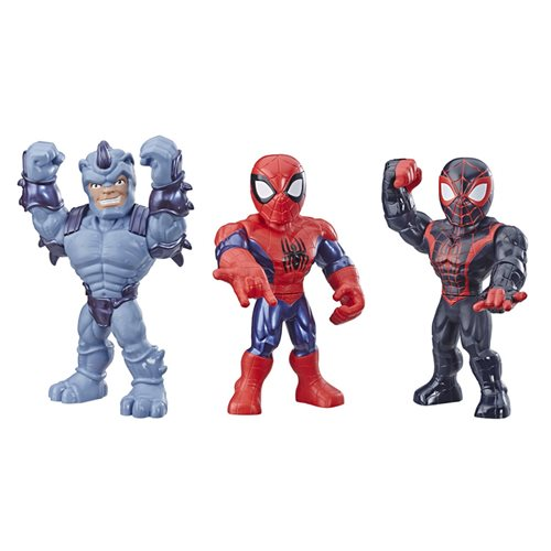Spider-Man Marvel Super Hero Adventures Web Warriors Action Figure 3-Pack