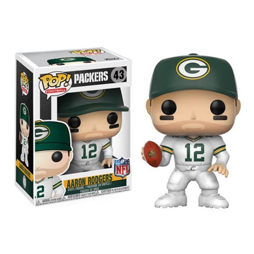 NFL Aaron Rodgers Green Bay Color Rush Wave 4 Pop! Vinyl Figure #43