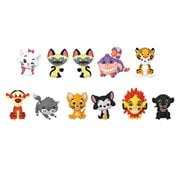 Disney Series 19 Cats Figural Key Chain Random 6-Pack