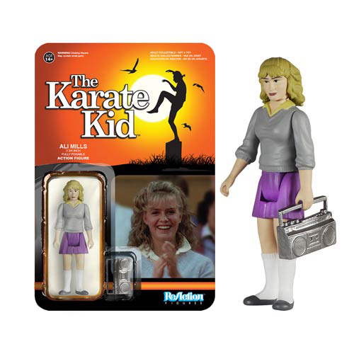 Karate Kid Ali ReAction 3 3/4-Inch Retro Action Figure