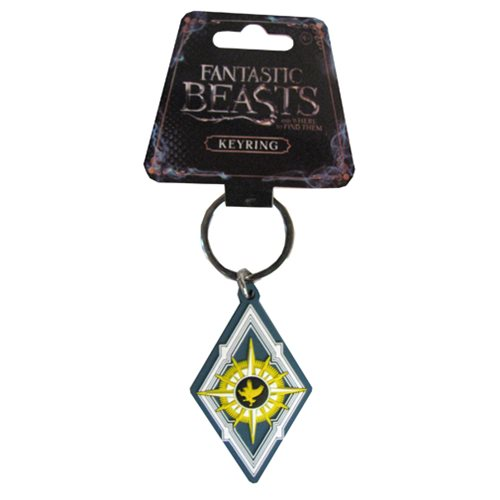 Fantastic Beasts and Where to Find Them Symbol Soft Touch Key Chain