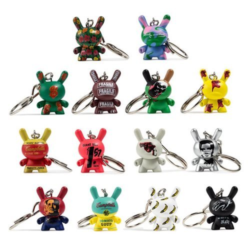 Andy Warhol Dunny Key Chain Display Tray