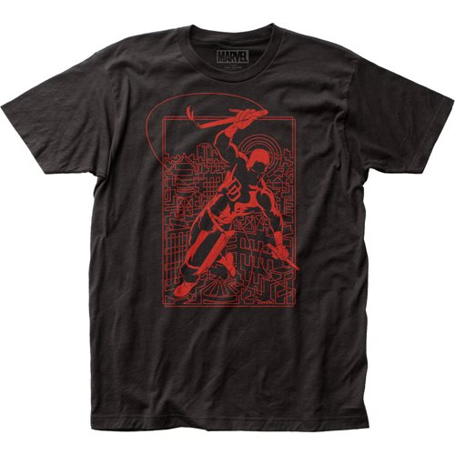 Daredevil Line Art T-Shirt
