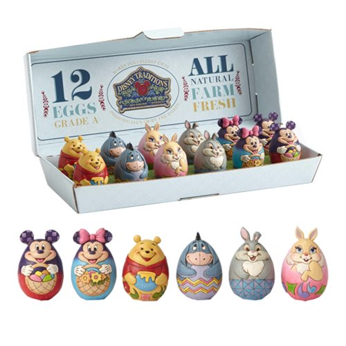 Disney Traditions by Jim Shore Character Eggs Case