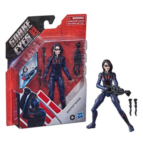 G.I. Joe Snake Eyes Movie 6-Inch Baroness Action Figure