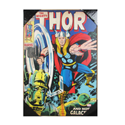The Mighty Thor Wood Wall Sign