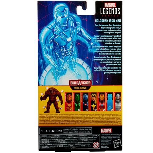 Marvel Legends Comic Hologram Iron Man 6-Inch Action Figure