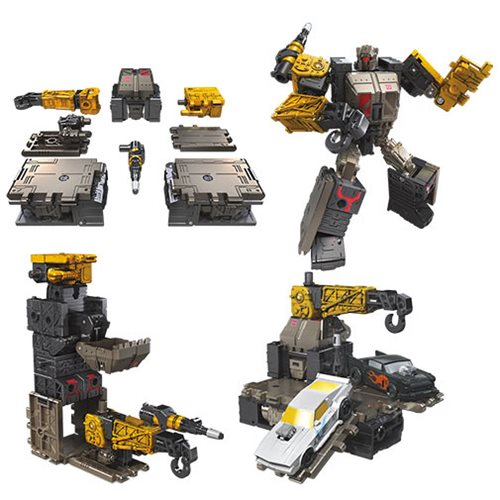 Transformers Generations War for Cybertron Earthrise Deluxe Ironworks