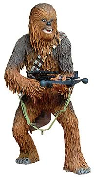 Chewbacca Cold Cast Statue