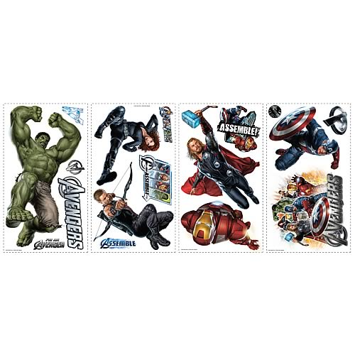 Avengers Peel and Stick Wall Decals