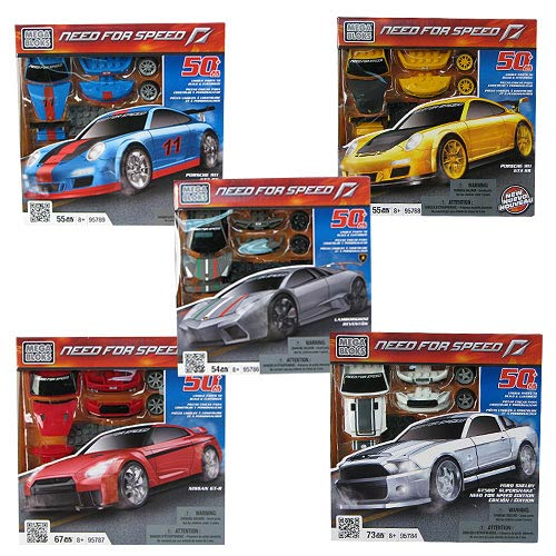 Mega Bloks Need for Speed Build & Customize Series 2 Case