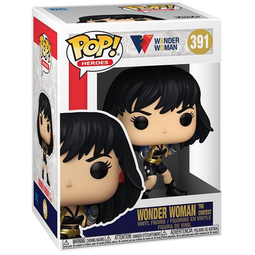 Wonder Woman 80th Anniversary The Contet) Pop! Vinyl Figure