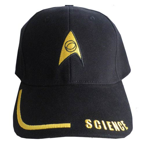 Star Trek Science Adjustable Black Hat