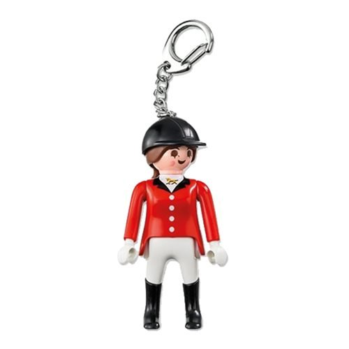 Playmobil 6617 Equestrienne Action Figure Key Chain