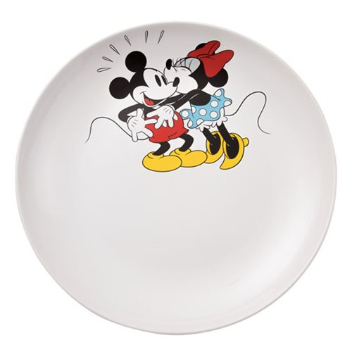 Disney Mickey and Minnie Mouse 14-Inch Ceramic Serving Platter