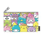 Hello Sanrio Food Print Pencil Case