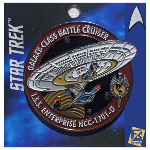 Star Trek Enterprise Mirror Red Pin