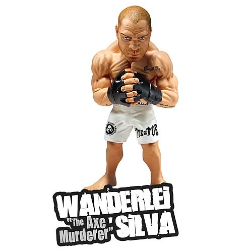 World of MMA Champions Wave 2 Wanderlei Silva Action Figure