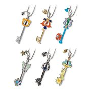 Kingdom Hearts Keyblade Vol. 1 Key Chain Random 4 Pack
