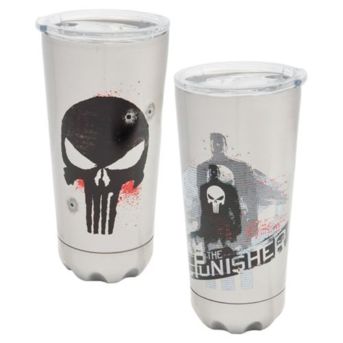 Punisher 20 oz. Stainless Steel Vacuum Tumbler
