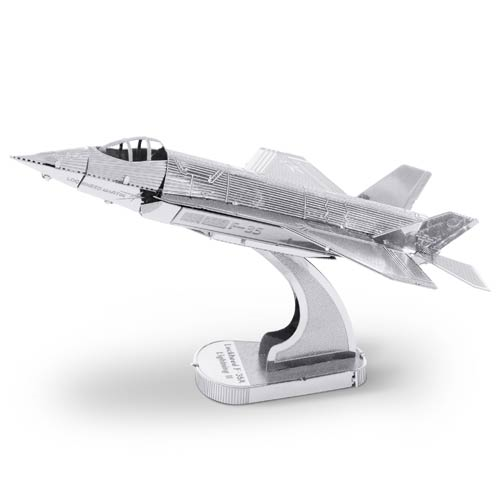 Air Force F-35A Lightning II Airplane Metal Earth Model Kit