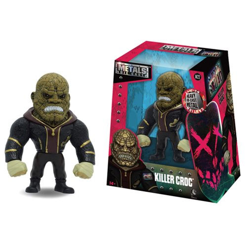 Suicide Squad Killer Croc 4-Inch Metals Die-Cast Action Figure
