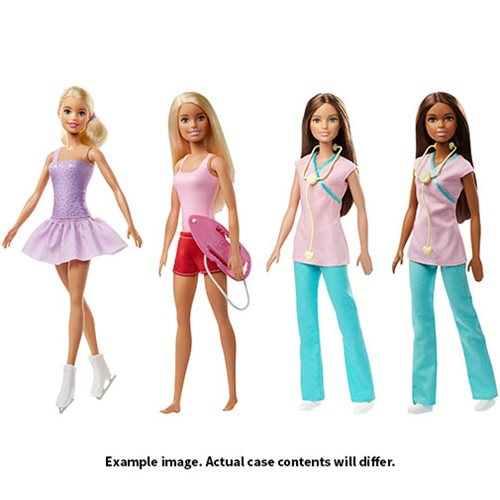 Barbie Core Careers Doll Case