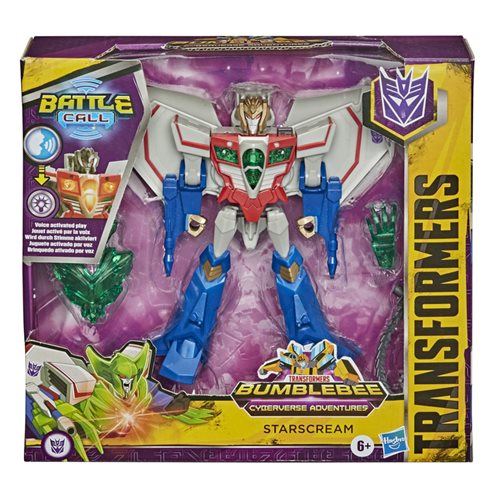 Transformers Cyberverse Adventures Battle Call Trooper Starscream