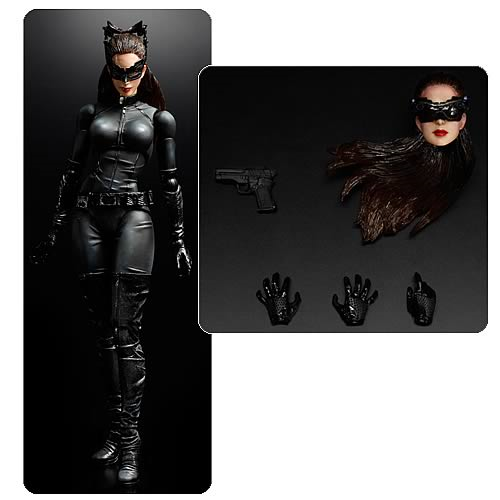 The Dark Knight Rises Catwoman Play Arts Kai Action Figure